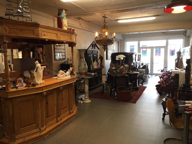 verkoopzaal Ostantix antiek
